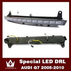 271.25$  Watch here - http://alircf.worldwells.pw/go.php?t=2034340001 - Night lord 12V 2005-2010 Car drl with turn signal function  for audi Q7 Daytime Running Light  Q7 LED DRL [Free Shipping by DHL]