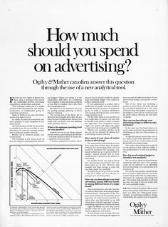 How much should you spend on advertising? Clever Advertising, Advertising Quotes, Print Advertising, Online Advertising, Small Business Marketing, Sales And Marketing, Content Marketing, Best Advertising Campaigns, Advertising Techniques