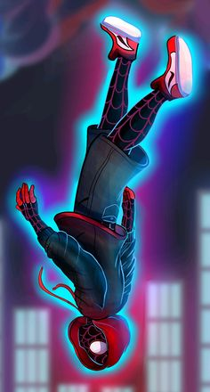 Miles Morales - Ultimate Spider-Man, Into the Spider-Verse Black Spiderman, Spiderman Spider, Amazing Spiderman, Marvel Comic Universe, Marvel Art, Marvel Heroes, Ultimate Spider Man, Gwen Spider, Spiderman Tattoo