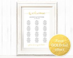 ItS Easy To Create Your Own Personalized Wedding Seating Chart