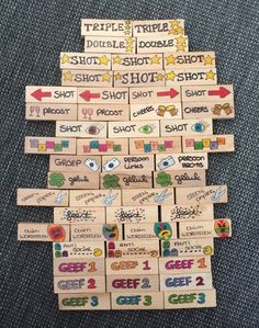 Fun Outdoor Games You'll Want To Play All Summer Long fun Jenga drinking game Sleepover Games, Fun Party Games, Adult Party Games, Birthday Party Games, Adult Games, Party Ideas, Beer Drinking Games, Drinking Jenga, Drinking Games For Parties