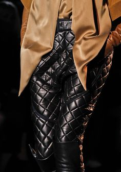 Could you rock quilted pants?
