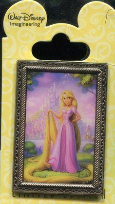 WDI Princess Fairytale Hall Portraits Rapunzel Le 200 Disney Pin 99845 (So rare it costs a Fortune!)