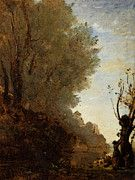 """New artwork for sale! - """" Corot The Happy Isle by Jean Baptiste Camille Corot """" - http://ift.tt/2pQeTKy"""