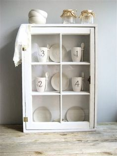 curio cabinet from old windows - Google Search