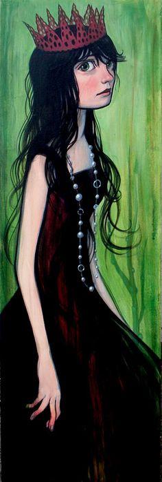 """""""Red Paper Crown"""" Kelly Vivanco - #Art"""