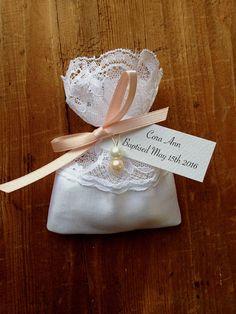 Lace Favor Bags Wedding Favors Jordan Almonds Italian Baptism And
