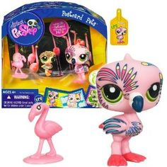 littlest pet shop flamingos