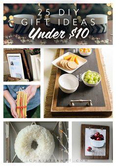 25+ DIY gift ideas for under $10