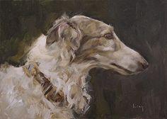 Coy, Kathleen (b,1967)- Borzoi, II