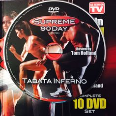 """TABATA INFERNO.  **Supreme 90Day System, """"Get Ripped in 90Days!"""" Workout Calendar, Get Ripped, Dvd Set, Nutrition Guide, See On Tv, Tabata, Strength Training, Supreme, Bodybuilding"""
