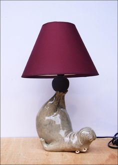 Hippo Lamp by Hippopottermiss on deviantART