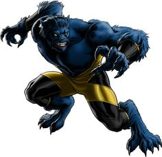 "Beast -   Real Name: Doctor Henry ""Hank"" McCoy -  Major Powers: Superhuman Strength, Speed, Agility, Endurance, Senses -  First Appearance: X-Men #1 (September, 1963) -  Joined: X-Men #53 (Flashback)"