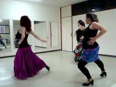 Aula de Dança Flamenca -Rumba Flamenca- Izabel Moratti