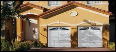 Garage Door Manufacturer - doorLink Manufacturing, Inc. Garage Door Windows, Windows And Doors, Garage Door Manufacturers, Large Windows, Mansions, House Styles, Outdoor Decor, Garland, Commercial