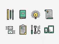Resume Icons [Rebound] by Kevin Moran