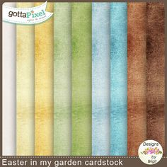Easter in my garden cardstock :: Gotta Grab It :: Gotta Pixel Digital Scrapbook Store by Designs by Brigit