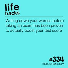 Boost your test scores hack my life, 1000 life hacks, useful life hacks, High School Hacks, College Life Hacks, Life Hacks For School, School Study Tips, School Tips, School Ideas, School Plan, School Routines, College Tips
