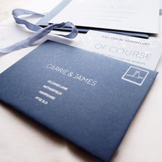 - of course -  Our RSVP cards come complete with beautifully printed reply envelopes.