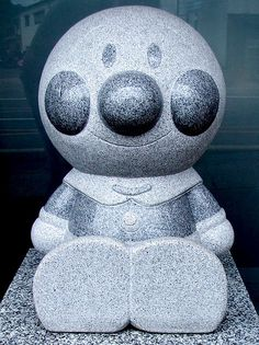 This can't be an Anpanman tombstone... or can it?
