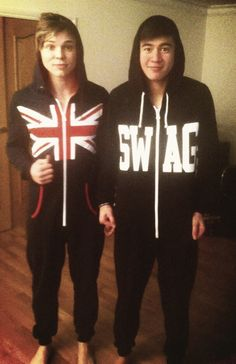 I remember this. Ashton wasn't feeling well so he took a picture with cal with a mini thumbs up. This gem.