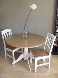 Landelijk en eenvoudig tafelen