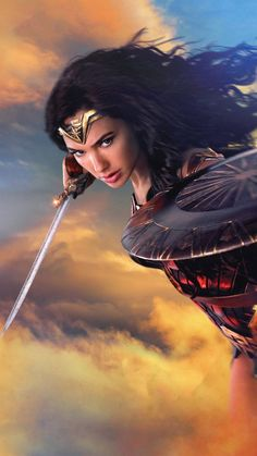 Gal Gadot as Wonder Woman Wonder Woman Pictures, Wonder Woman Art, Gal Gadot Wonder Woman, Wonder Woman Movie, Comic Kunst, Comic Art, Gal Gabot, Wander Woman, Arte Dc Comics