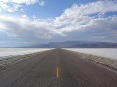 Exit in Utah for access to Bonneville speedway