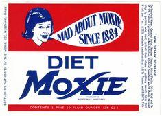 Diet Moxie label