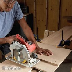Make furniture-quality cuts with a circular saw with these inexpensive DIY saw guides. Make both from medium-density fiberboard in just a few hours, then us
