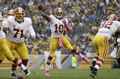 Robert Griffin III Passes Against the Steelers