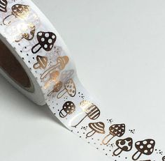 Your place to buy and sell all things handmade Crafts For Teens, Teen Crafts, Cool School Supplies, Duct Tape Crafts, Cute Stationary, Masking Tape, Washi Tapes, Tapas, Stuffed Mushrooms