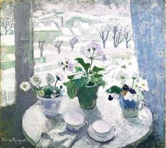 Anne Redpath, A PRELUDE TO SPRING