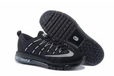 Nike Air Max 2016 Flyknit Men Black/Silvery