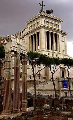 Astonishing Landscapes: Nature and City Rome - Italy (von David Paul Ohmer) via Tumblr