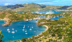 Antigua is a small island that is often grouped with its nearby neighbor Barbuda.