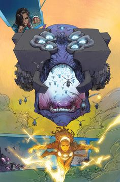 THE ULTIMATES #1 preview by Kenneth Rocafort