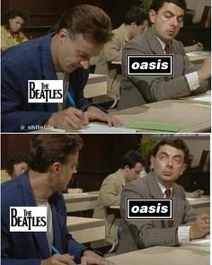 25 Hilarious Beatles Memes That Will Keep You Laughing Eight Days A Week - Shenhuifu Beatles Funny, Funny Memes, Hilarious, Music Humor, Music Jokes, Britpop, The Eighth Day, Band Memes, Rock Legends
