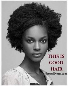 "YOUR NATURAL HAIR IS GOOD HAIR….. ""If you weren't born with straight hair, how can straight hair be classified as 'good hair' on you? Nature doesn't lie."" - Loreen Hall, aka Ms Natural..."