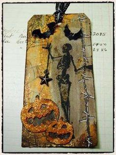 Halloween tag by Anita Larsen