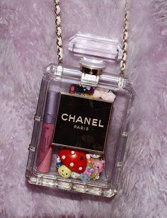 How to fill ur no.5 perfume bag a la Miley