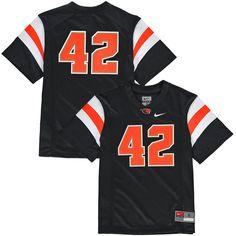#42 Oregon State Beavers Nike Youth Replica Football Jersey - Black - $54.99