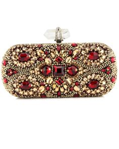 Marchesa - Crystal Embroidered Clutch