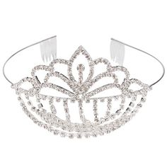 Pendant Rhinestone Wedding Bridal Headband Crown Tiara