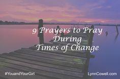 9 Prayers - change