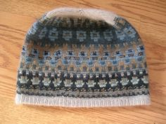 The Blue Shimmer Cap Yarn only Directions are by KIMMETCROFTFIBER