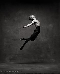 New York City Ballet soloist Zachary Catazaro (photo by New York City Dance Project)