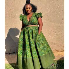 TribeOfAfrik shared a new photo on Etsy at Diyanu Seshweshwe Dresses, Ankara Dress Styles, African Wedding Dress, Latest African Fashion Dresses, African Dresses For Women, African Print Dresses, African Print Fashion, African Prints, African Outfits