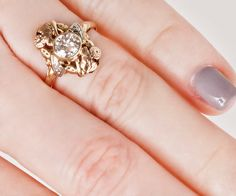 Antique Arts and Crafts 14K Rose and White Gold di TheCopperCanary