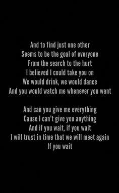 london grammar if you wait album interlude (live) lyrics